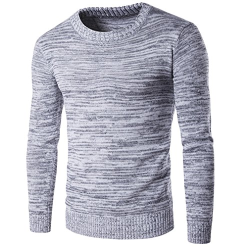 Hombre Plus Size Costumes (Spring Autumn Winter Sweater Men Cotton Men Long Sleeve Sweater Australian Knitted Solid Grey Plus Size Xxl Pullover Hombre Gray Xxl)