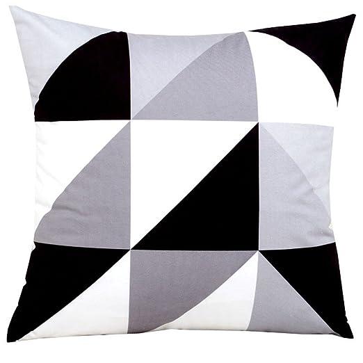 JINGXINSTORE Amarillo gris Rayas geométricas patrón tira de ...