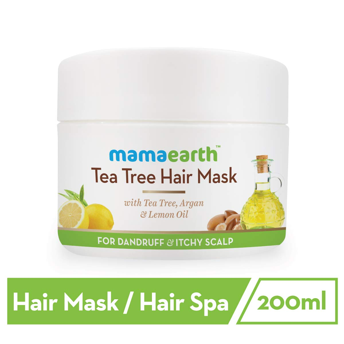 Mamaearth Anti Dandruff Tea Tree Hair Mask : Best hair spa product