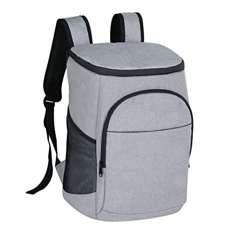d2099e154843 F40C4TMP Insulated Cooler Backpack 16L 24Cans Large Leakproof Backpack  Travel Soft Cooler for Men Women