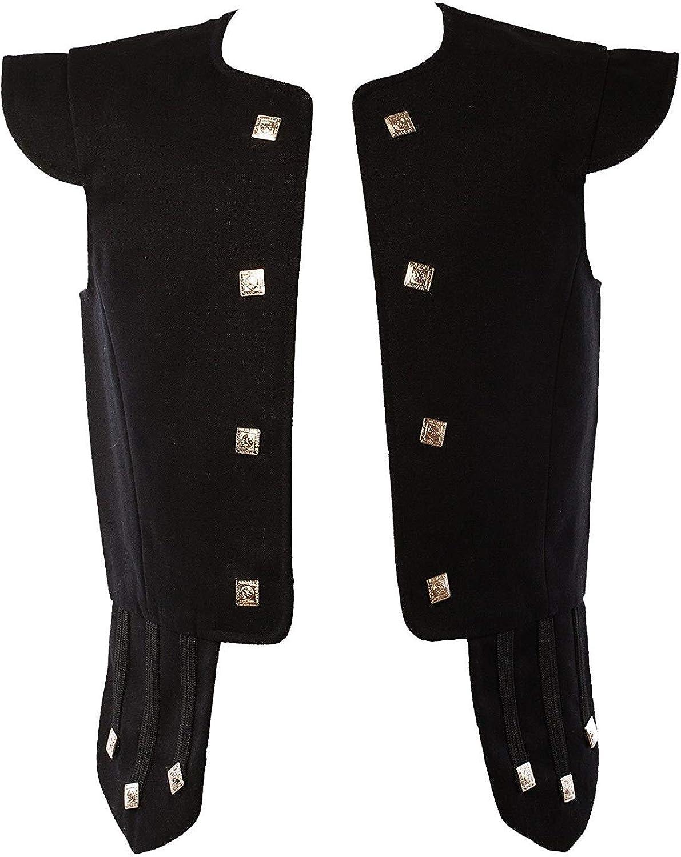 Unbekannt Star Leather 100/% Wolle Chieftain Weste Schottisch Traditionell Kilts /& Hochzeit Weste in 6 Farben
