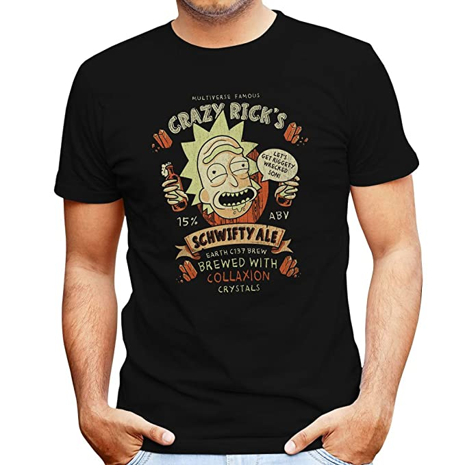 1 opinioni per Crazy Ricks Schwifty Ale Rick and Morty Men's T-Shirt