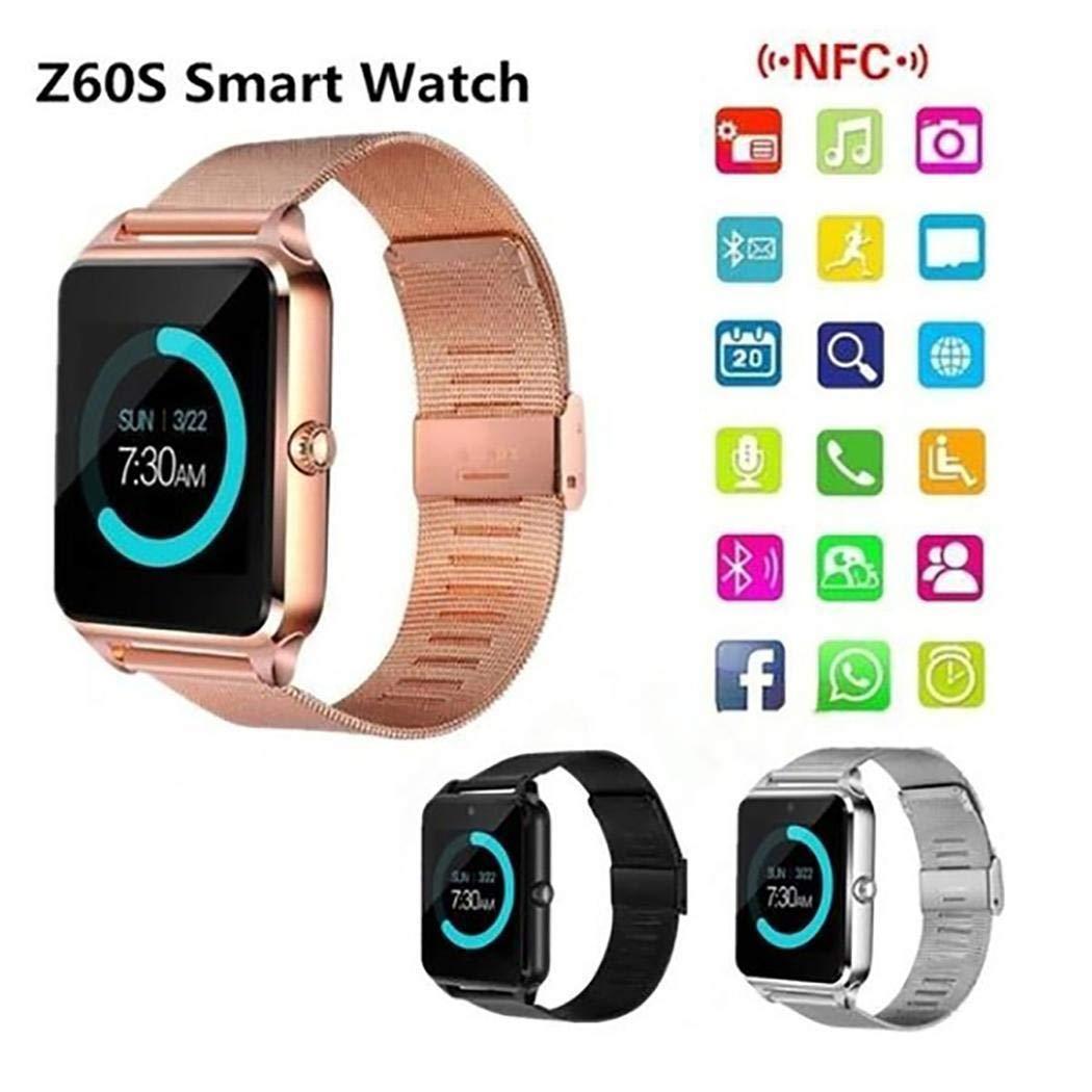 Kloius Reloj Inteligente Bluetooth Smartwatch con Ranura ...