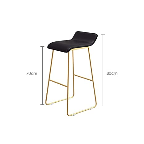 Stupendous Amazon Com U See New Nordic Bar Stools Cafe Lounge Stool Machost Co Dining Chair Design Ideas Machostcouk