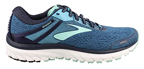 Brooks Adrenaline GTS 18, Zapatillas de Running para Mujer, Azul (Navy/Teal