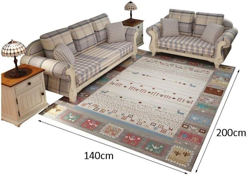 Size : 120160cm Sleek Minimalist Area Carpet Living Room Bedroom Modern Floor Rug Coffee Table Sofa Cushion Home Rectangular Rug