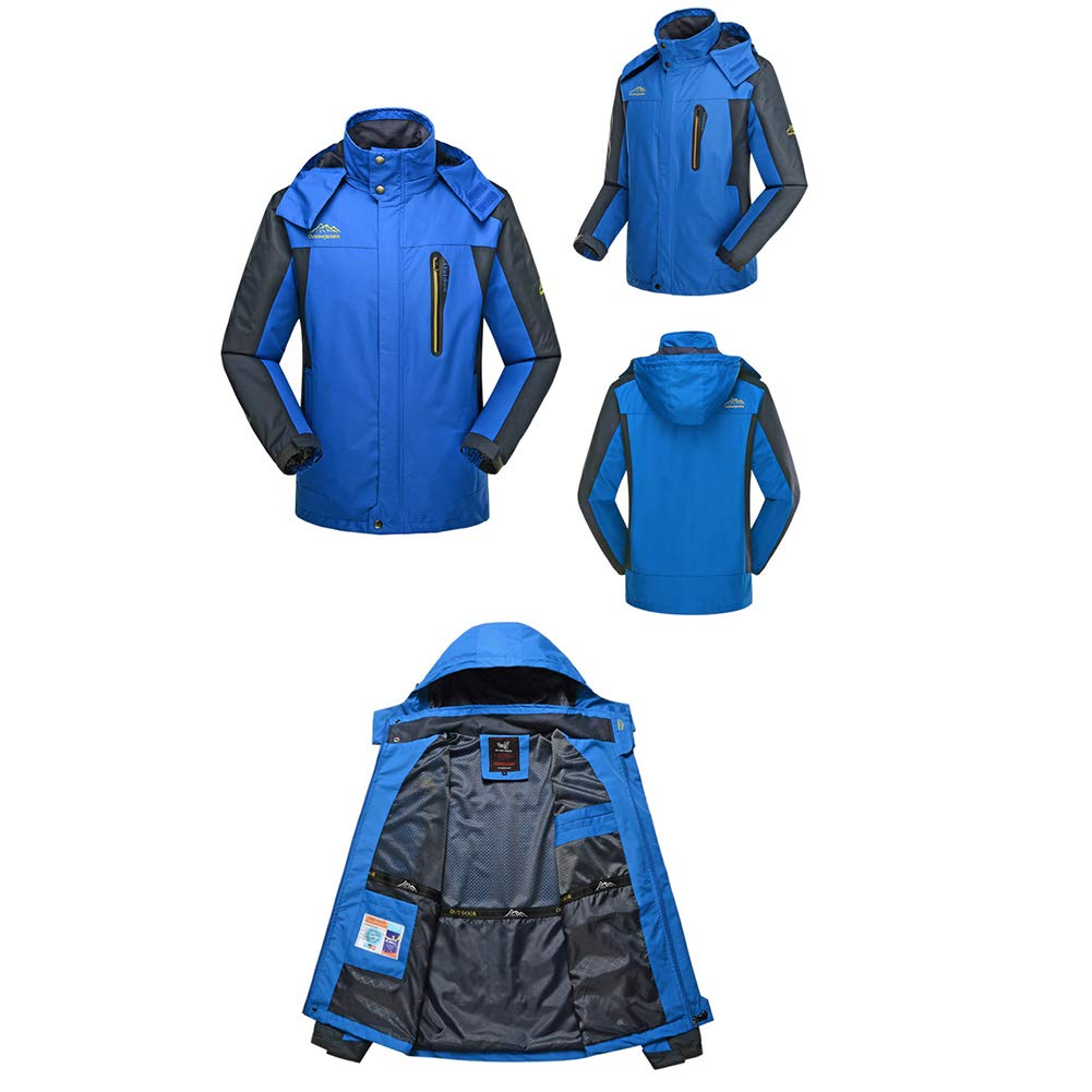 Large Size Single Layer Thin Male Handsome Jacket Suitable for Cycling Camping TZpick Mens Outdoor Sports Jacket