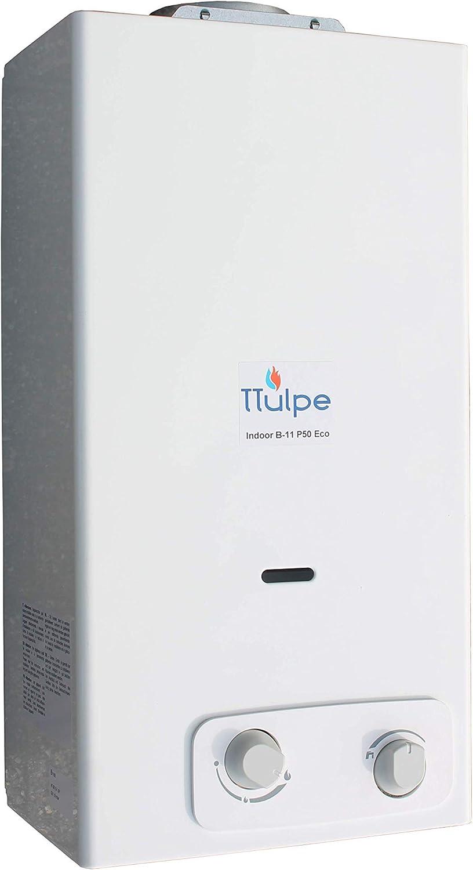 TTulpe Indoor Propane Water Heater B11 P50 Eco 1.5 V White