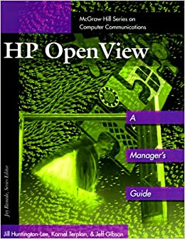 HP'S OpenView (McGraw-Hill Series on Computer Communications)