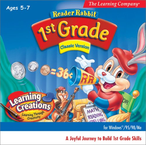 Reader Rabbit 1st Grade Classic (Jewel Case) by The Learning Company