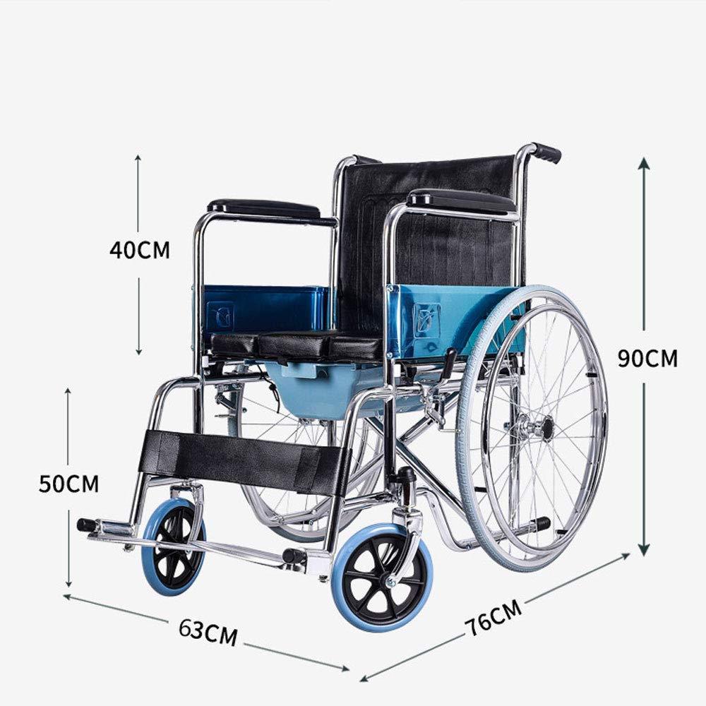 DLY Ancianos Discapacitados Silla de Ruedas - Trolley Old ...