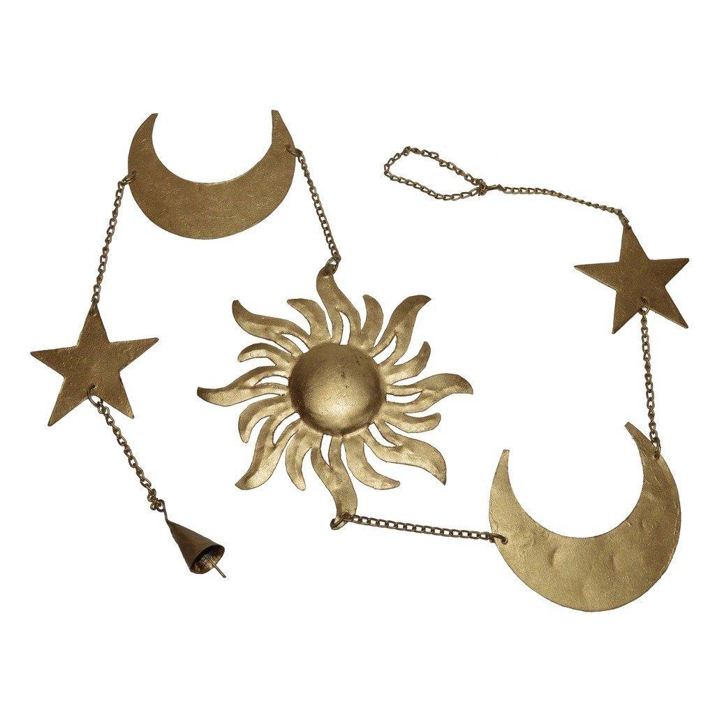 Iron Made Sun Moon Star Wall Hanging/Metal Wall Hanging