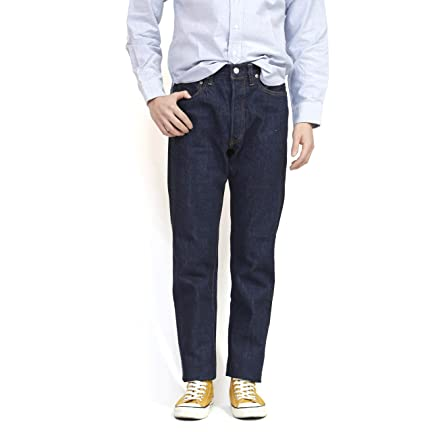 Lot 802 Slim Tapered Jeans: Rinse