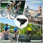 Faneam-Copri-Sellini-per-BiciclettaTraspirante-Sella-per-Mountain-Bicicletta-con-Effetto-AmmortizzanteSedile-Bicicletta-Ergonomica-Impermeabile-e-Morbida-Nero28-175cm