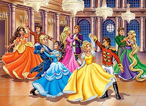 Castorland B-222018 Teile Hobby Princess Ball Jigsaw Puzzle, 200 Pieces Set, ()