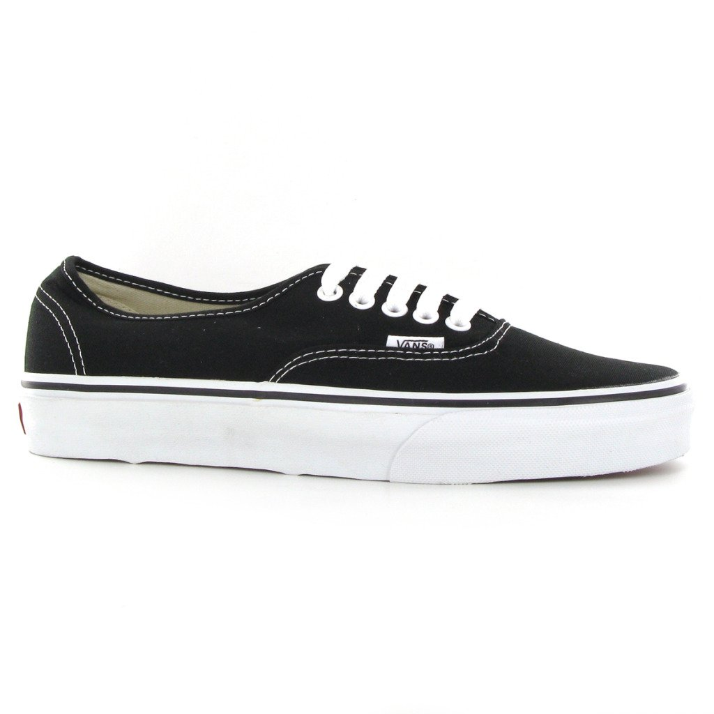 828da4d9b9c2a Vans Authentic Black Womens Trainers Size 6 UK  Amazon.co.uk  Shoes   Bags