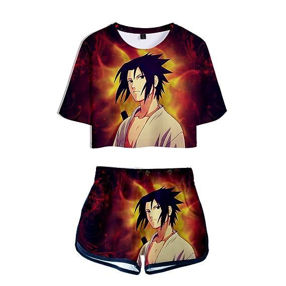 Memoryee Moda 3D Digital Naruto Sasuke imprimiendo Camisetas ...