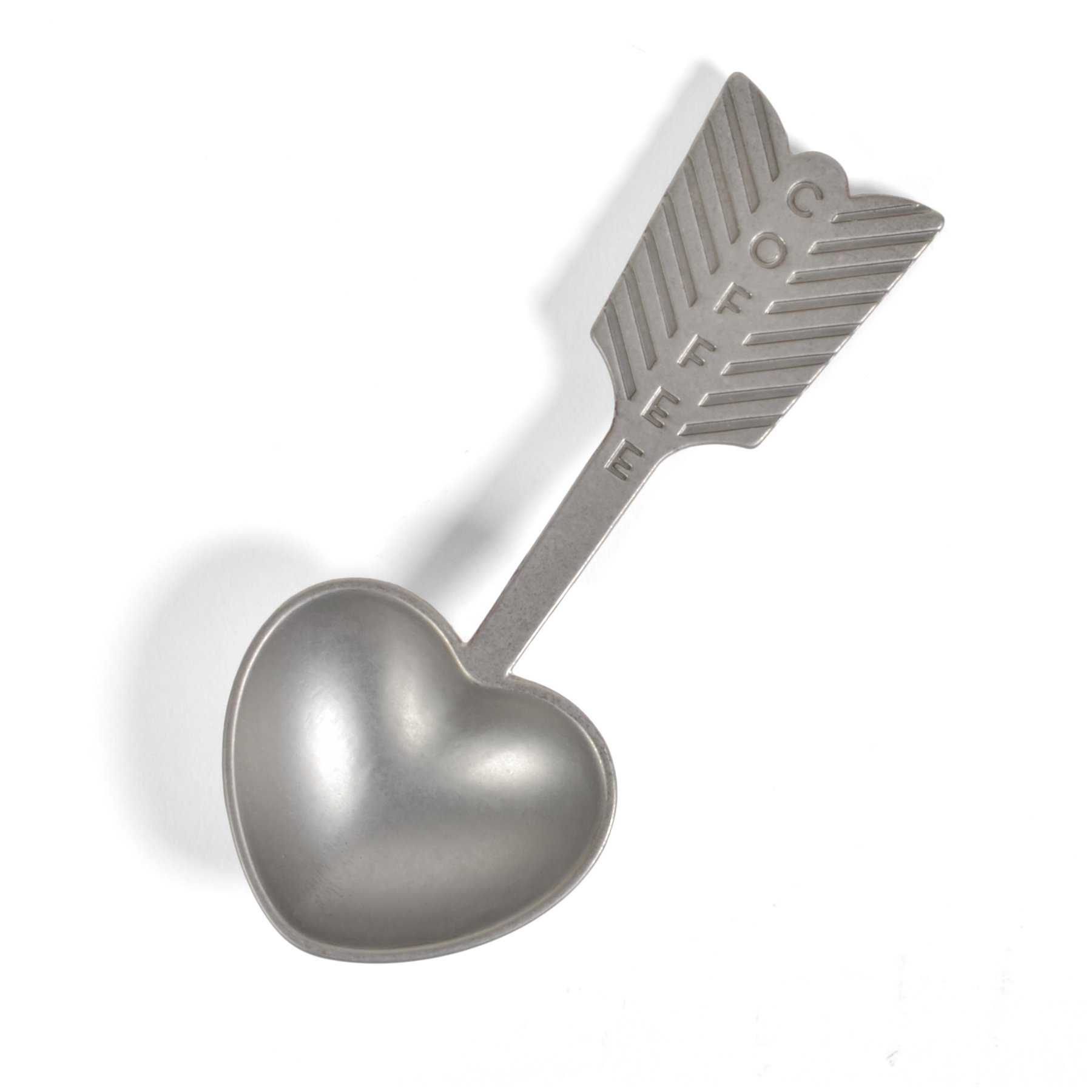 Beehive Handmade Heart Coffee Scoop