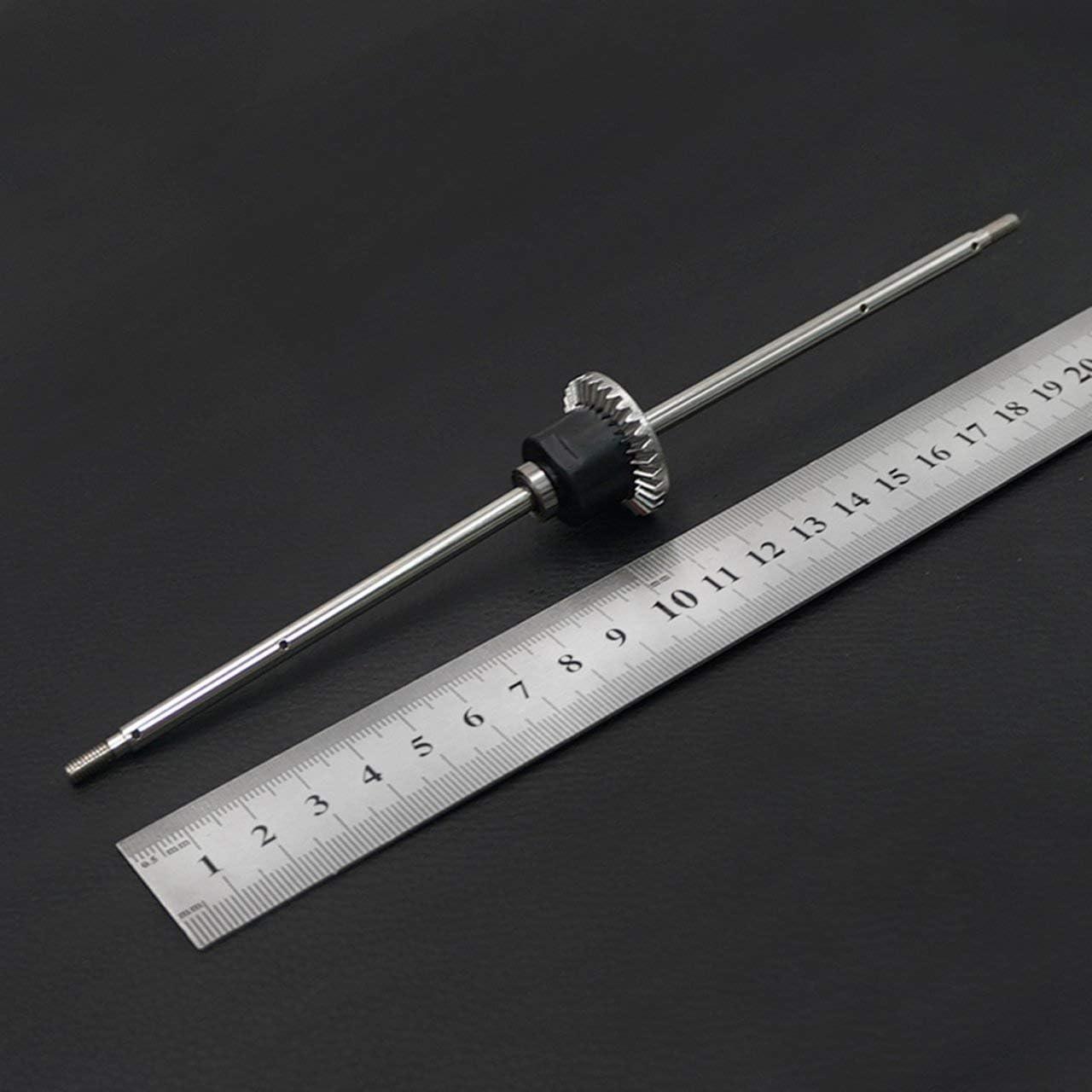 F/ür WLtoys 12428 1//12 Rear Differential Gears Set komplett Upgrades Car RC Modellbau Modellersatzteile Zubeh/ör DEjasnyfall Silber