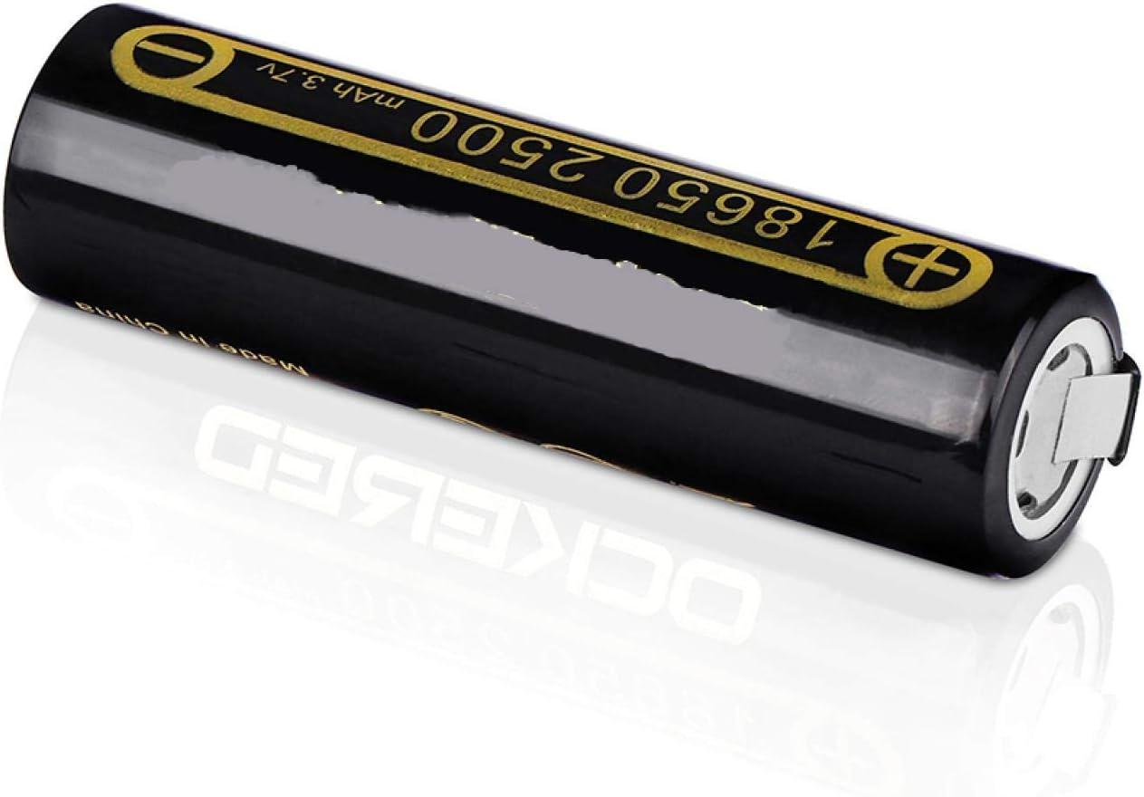 RECORDARME 18650 Li-Ion Rechargeble Battery 2500mah, for Flashlights Led Lights Miner's Lamps Lighting Products 5pcs 10pcs
