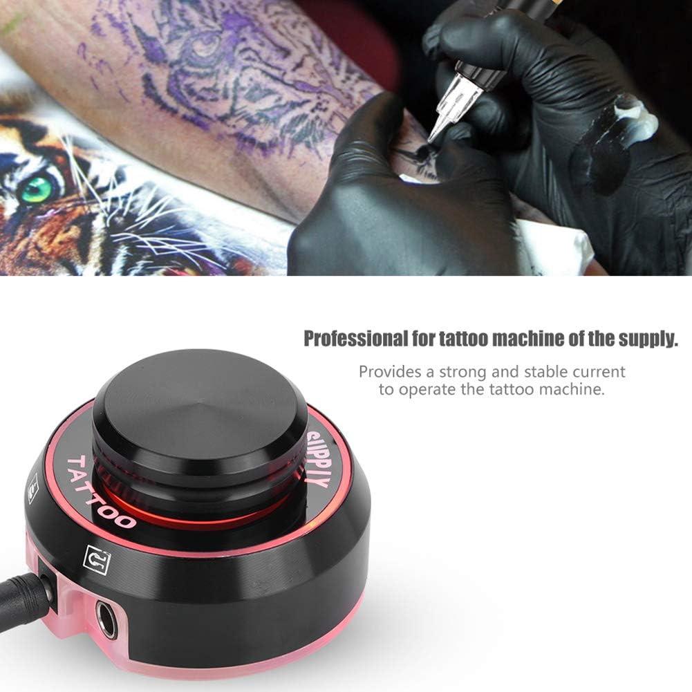 Tattoo Fuente, Colorful Voltaje Corriente Critical Tattoo Atom Tattoo Fuente para máquina de tatuaje kit Supply: Amazon.es: Belleza