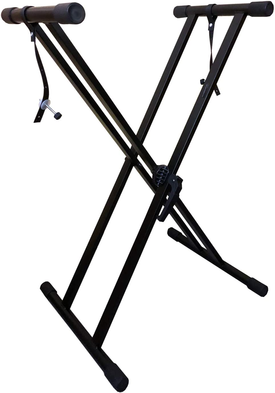 RockJam Xfinity Heavy-Duty, Double-X, Pre-Assembled, Infinitely Adjustable