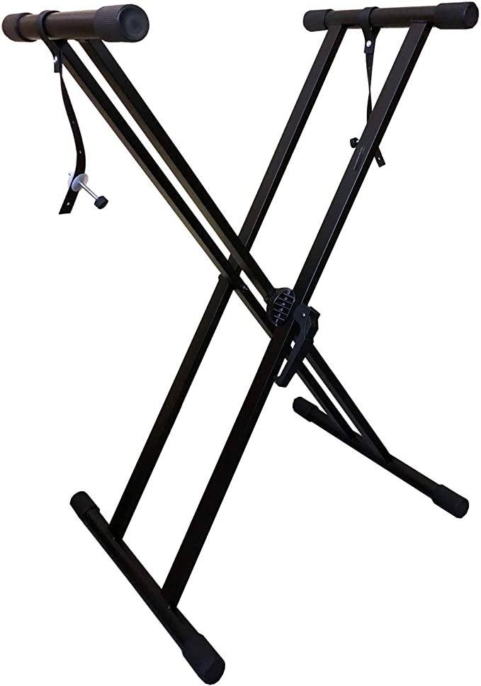 Tiger KYS21-BK Support pour Clavier réglable Noir Stands Supports et Pieds de clavier