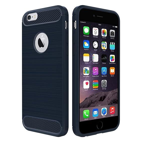 e204f4da56c Simpeak Funda para iPhone 6s / 6, Funda iPhone 6s Carcasa iPhone 6s Case  Silicona