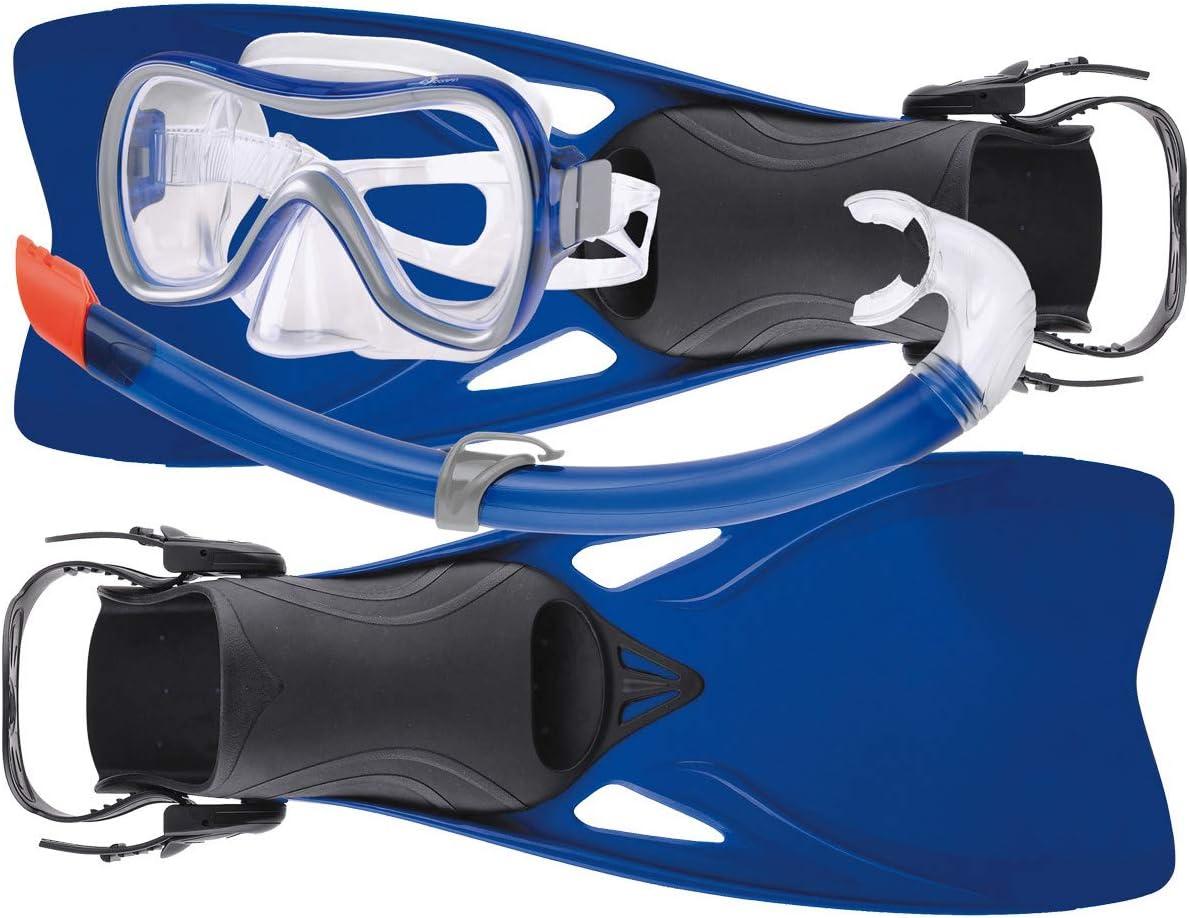 Black//Blue SALVIMAR fluyd Snorkelling Fins Bag Unisex Adult