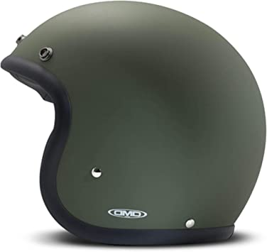 Amazon.es: DMD - Casco de Moto Unisex Verde Mate Medium Verde