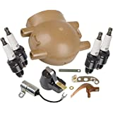 Tisco MTK6FFR Master Tune Up Kit for Ford 4 Cylinder Tractor with Front Mount Distributor