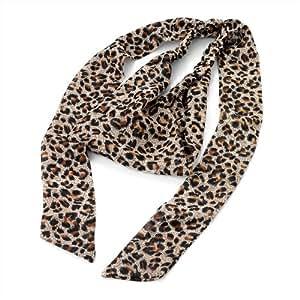 animal print headwrap