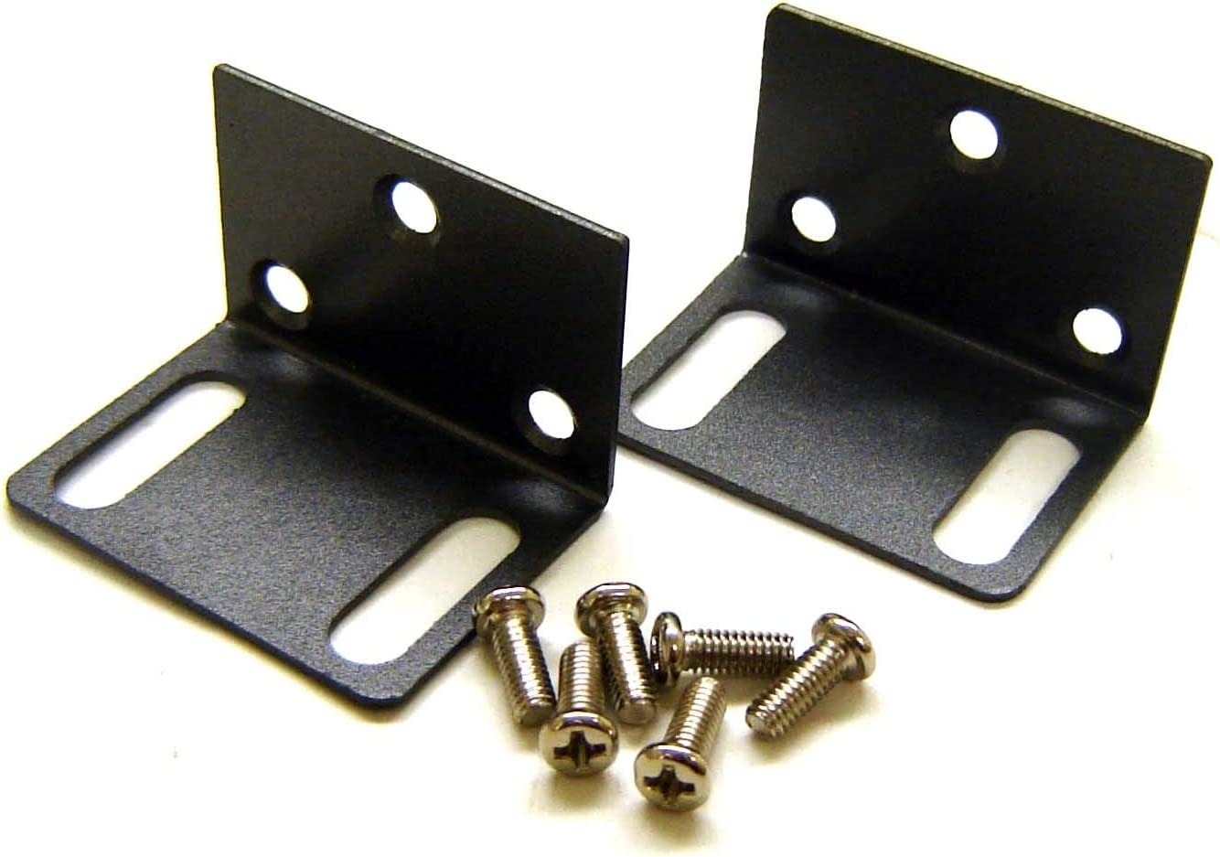 AllAboutAdapters Easy Rack Mounting Ears for 1U 19-Inch Equipment