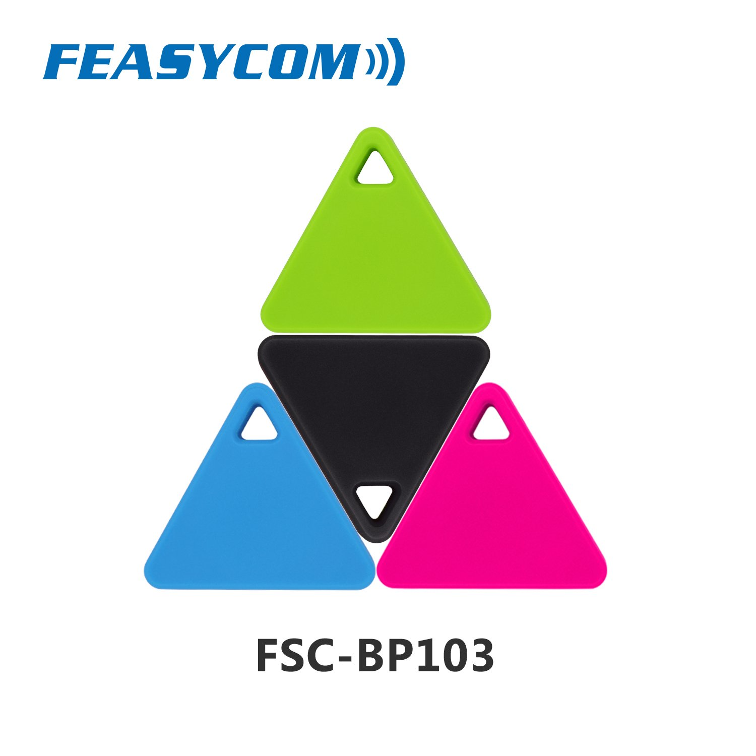 FeasyBeacon Mini Bluetooth 5.0 Proximity Low Energy Beacon with Eddystone, iBeacon and AltBeacon,Android & iOS programmable Shenzhen Feasycom Technology Co. LTD FSC-BP103
