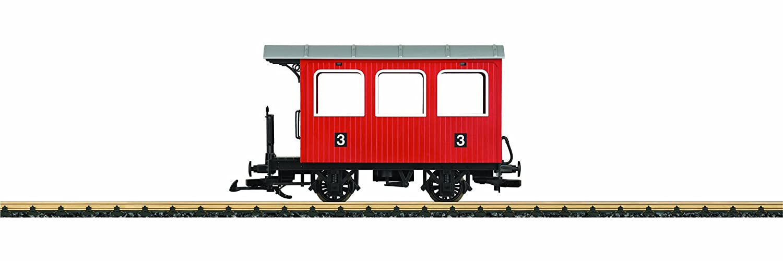 LGB 93402 Personenwagen, - Personenwagen, 93402 rot f40692