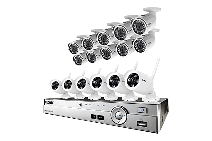 Amazon com : 16 Camera HD 1080p CCTV Security System with Wireless