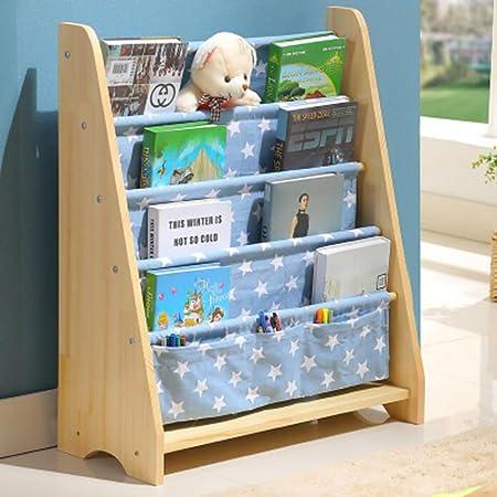 Baby Bookshelf Childrens Bookcase Nursery Figure Child Household Simple Picture Frame Cartoon Toy Storage Rack