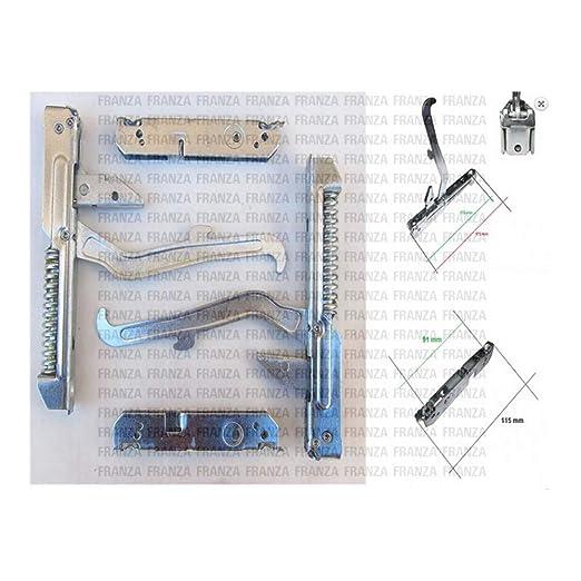 Ariston Indesit Star - Kit de 2 bisagras de muelles para puerta de ...