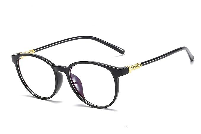 Amazon.com: Sulens - Gafas redondas y transparentes sin ...