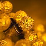 70 G12 Gold Globe Christmas Lights Gold 24 ft. LED Globe String Lights Ball Lights Dorm Room Lights Party String Lights for B