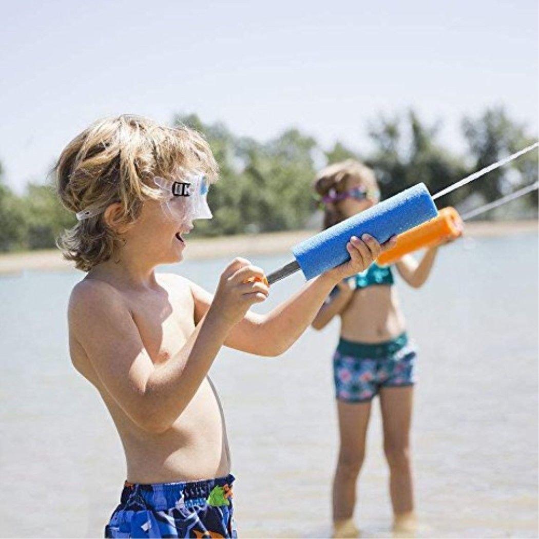 KSNOW Water Guns,6 Pack Mini Super Soaker Foam Water Blaster Gun Toys Swimming Pool Beach Garden 1 PC Fidget Toy Free by KSNOW (Image #8)