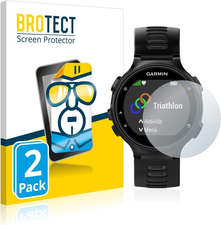BROTECT Protector Pantalla Compatible con Garmin Forerunner 735XT Protector Transparente (2 Unidades) Anti-Huellas: Amazon.es: Electrónica