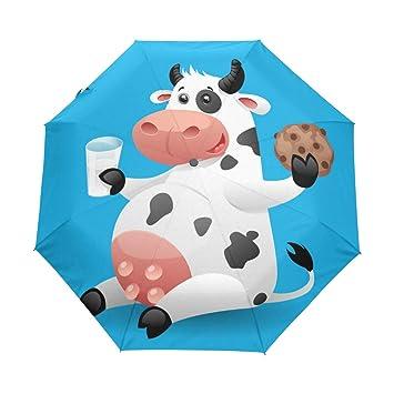 77677f8a8141 Amazon.com: Travel Umbrella Automatic Windproof Foldable Umbrella ...