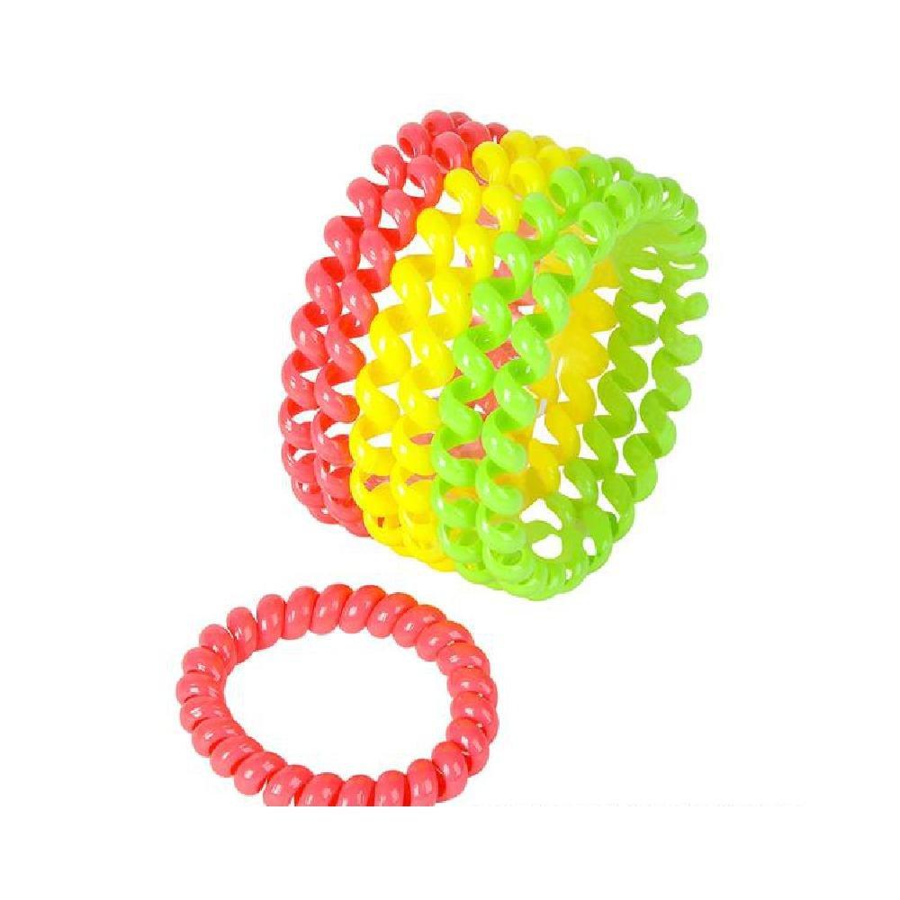 Neon Telephone Cord Bracelet