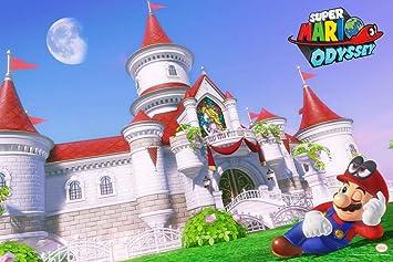 Amazon Com Pyramid America Super Mario Odyssey Mario