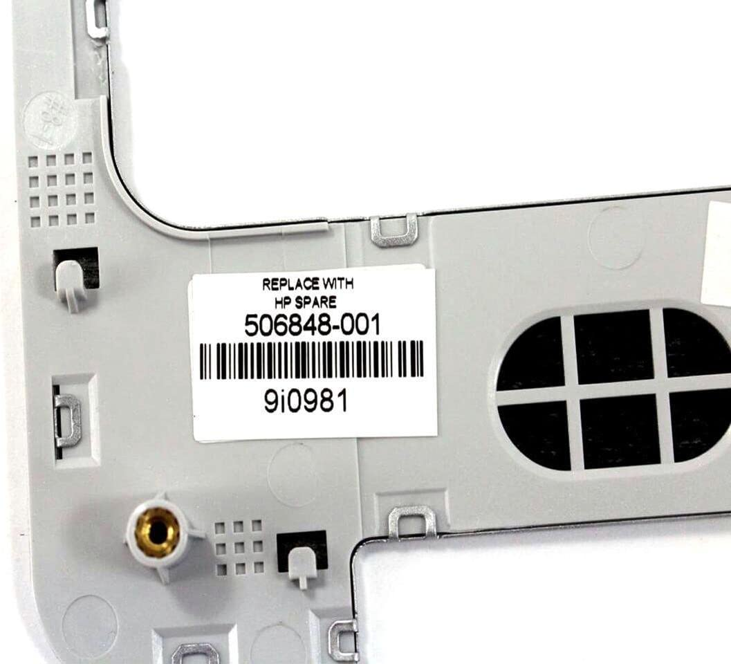 Power Button =/> SILVER ORIGINAL HP G60 Keyboard Trim Bezel Frame 506848-001