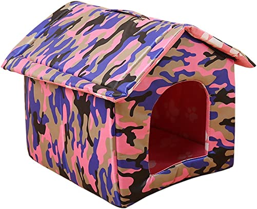 Garden Land Portable Folding CAT House – Soft, Warm Waterproof and Comfortable and goes Everywhere
