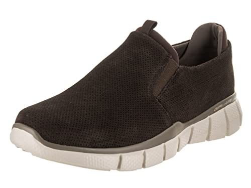 f40d95cd8c866 Skechers Equalizer 2.0 Lodini Mens Slip On Sneakers Chocolate 10.5 EWW