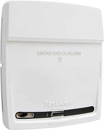 First Alert Battery-Operated Combination Photoelectric Smoke and Carbon Monoxide Alarm, PC900,White