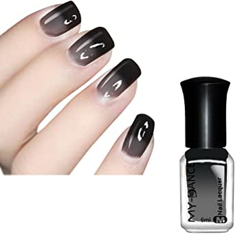 Gillberry 100% Pure Thermal Nail Varnish Color Changing Ultra Holographic Nail Polish